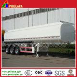 3台の半車軸35-55m3ガソリンオイルタンクの燃料のタンカーのトレーラー