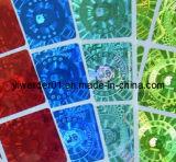 Coloridas pegatinas de holograma de la pantalla (H-025)