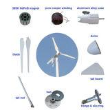 1kw 2kwの再生可能エネルギー力のハイブリッド小さい風力発電機の太陽電池パネル