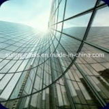 Vidrio Inferior-e claro del vidrio de flotador