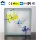 Jinghua artístico de alta calidad P-056 de la pintura de ladrillo y bloque de vidrio