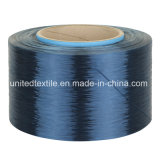 Stimolante-Dyed 100% del poliestere FDY Yarn con 75D/36f Trilobal Bright Weaving Yarn