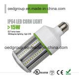 luz elevada do milho do diodo emissor de luz do CRI do dissipador de calor 15W grande uma iluminação de 360 graus com Ce RoHS do cUL PSE do UL aprovado