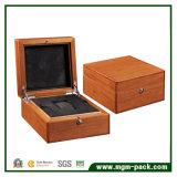 Monili di legno di alto di lucentezza del palissandro rivestimento del piano/contenitore di regalo impaccante vigilanza dei monili con il cassetto