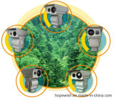 Alarm (2-6km)를 가진 화재 Detection IR Thermal Camera PTZ