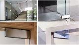 Abrazadera de cristal de la puerta de la aleación del acero inoxidable 304/aluminio de Dimon, corrección que ajusta el vidrio de 8-12m m, guarnición de la corrección para la puerta de cristal (DM-MJ 0100)