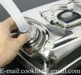10Lステンレス鋼水平オイル水ジェリーは口が付いているガソリンディーゼル容器に燃料を供給することができる