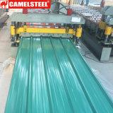 Corrugated Prepainted гальванизированная стальная катушка полное Hardsness