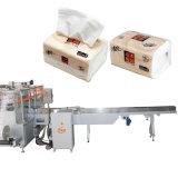 Automatische Abschminktuch-Verpackungs-Einsacken-Maschine