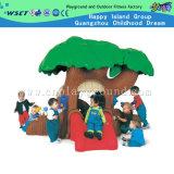 아이 실행 (M11-09502)를 위한 사랑스러운 나무위 집 플라스틱 활주