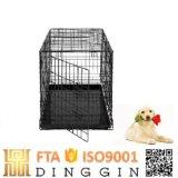 Perro de metal de la jaula jaula jaula