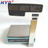 Alta precisión de la pantalla LCD de alimentación doble escala de precios