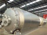 Strumentazione di gomma di distillazione Using gomma ed il pneumatico residui