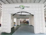 De witte Vierkante Opblaasbare Tent van de Kleur voor OpenluchtPartij