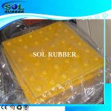 Патенты высокого качества на ощупь резиновое плиткой (300mmx300мм)