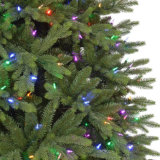 12 FT. Árvore de Natal artificial de incandescência LED Monterey Fir com luzes de mudança de cor (MY100.076.00)
