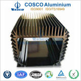 Perfil de alumínio Precison OEM para o dissipador de calor com anodização