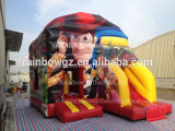 Jouets gonflables commerciale populaire Storys Bouncy Castle pour la vente