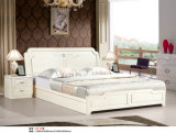 アイボリーカラーKdの寝室の家具、Kdのドレッサー、ワードローブ、ベッド(B2)