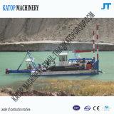100 Cbm Fluss-Sand-Bagger im Indonesien-Strahlen-Absaugung-Bagger