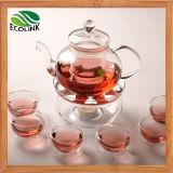 Двойные стенки Heat-Resistant стекло набор для приготовления чая