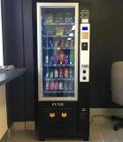 Mini bocado y máquina expendedora de la bebida