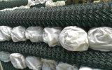 Гальванизированная загородка звена цепи PVC Coated (ячеистая сеть диаманта)