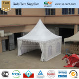 5X5m PVC Decorated Pagoda Tent für Outdoor Hochzeitsfest Events