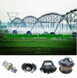 Le pivot central équipe l'irrigation d'arroseuses d'agriculture