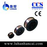 Fil de soudure enduit de cuivre de CO2 Er70s-6