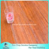 Pavimentazione di bambù tessuta filo spazzolata prezzo più poco costoso dell'interno nel colore della quercia rossa con l'alta qualità