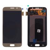 Pantalla DE Samsung S6 Dorado LCD+Touch voor het Goud van Samsung S6