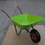 Тачка Wb5205 садовничая инструментов емкости 65L Famliy изготавливания 100kg