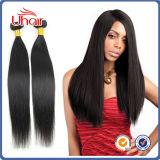 Повышение качества 100% волос человека Weft Бразилии