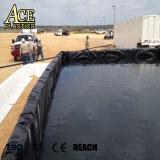 Geomembrana HDPE para auxiliar/Medio ambiente/contaminación/Animal de contención de residuos