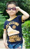 Boy's Summer T-Shirt Kid's T-Shirt à manches courtes d'usure BT12