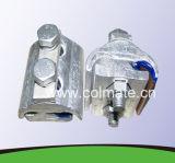 La rainure du collier parallèle en aluminium / deux collier de serrage du boulon / suspension