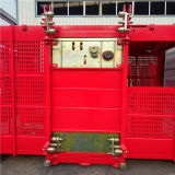 Hsjj China Made Construction Elevator Double Cage