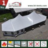 Grand modèle spécial de tente de chapiteau d'usager de crête élevée