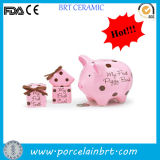 개인화하는 또는 Kids/Adults를 위한 Cool Large/Small Pig 또는 Cat Collectors/Collective/Collection DIY Piggy Penny/Money/Coin Saving Box 또는 은행