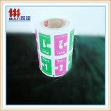Het Document van de Folie van het aluminium voor de Verpakking van het Stootkussen Alchol