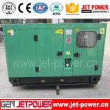 Gerador Diesel trifásico da C.A. 15kw 50kw com calefator de petróleo
