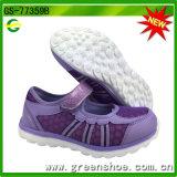 Chaussures occasionnelles plates de confort les plus neuves de filles des filles de chaussures