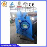 machine de roulement hydraulique de plaque de 4 rouleaux W12S-6X3000