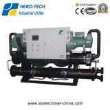 Refroidisseur d'eau basse température refroidi à l'eau avec Compresseur Hanbell