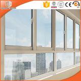 La conception des Caraïbes à battants en aluminium/auvent fenêtre, double vitrage en verre trempé de la fenêtre à battant