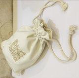 2016 Custom Printed Drawstring Bag Material de algodão
