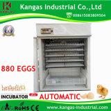 Incubateur automatique d'oeuf de caille de matériel d'aviculture