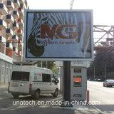 Armazón de Aluminio Metal Unipole con retroiluminación LED Callejón Mega banner de publicidad de Verificación de carteles en vallas