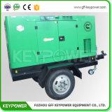 tipo silenzioso verde del generatore diesel da 73 KVA Cummins Engine di colore